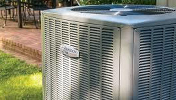 Armstrong air conditioner outside