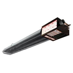 Overhead space heater