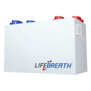 lifebreath heat recovery ventilators (HRV)